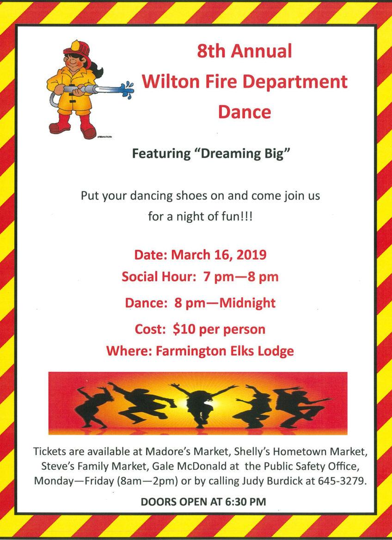 Wilton Fire Department Dance