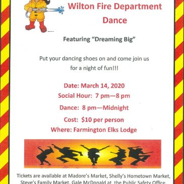 9th Annual Wilton Fire Department Dance